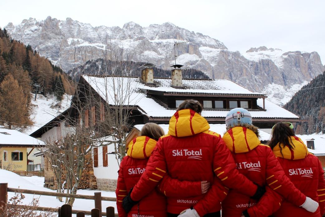 Ski Total | Ski Total representatives looking into Selva resort centre