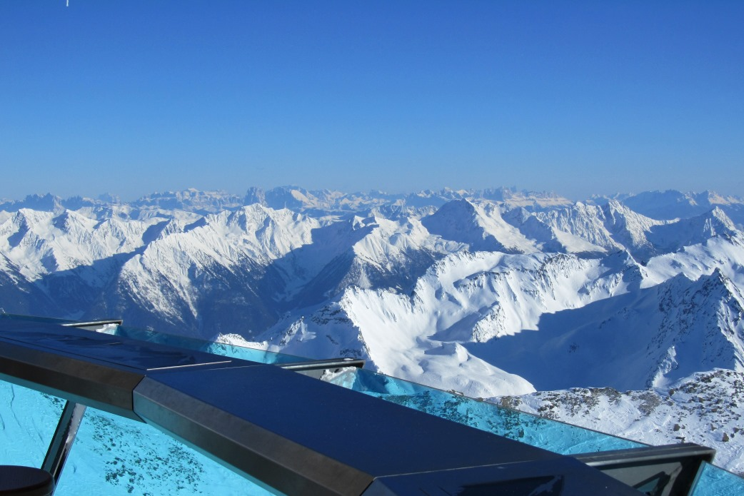 Ski Total | View from the Top Mountain Star viewing platform