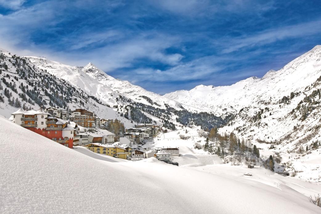 Ski Total | View of Obergurgl village centre