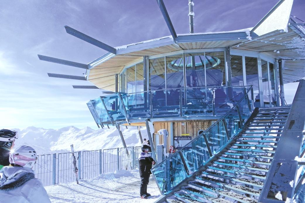Ski Total |The Top Mountain Star viewing platform and Panoramic bar