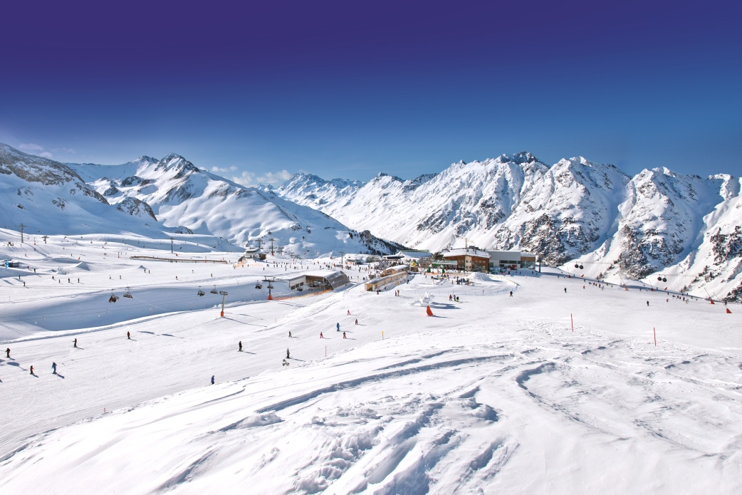 Ski Total | A beautiful looking piste in Ischgl