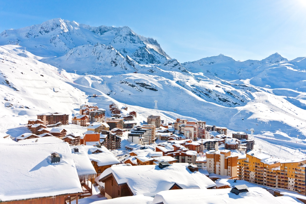 Ski Total | A view of the top of Val Thorens