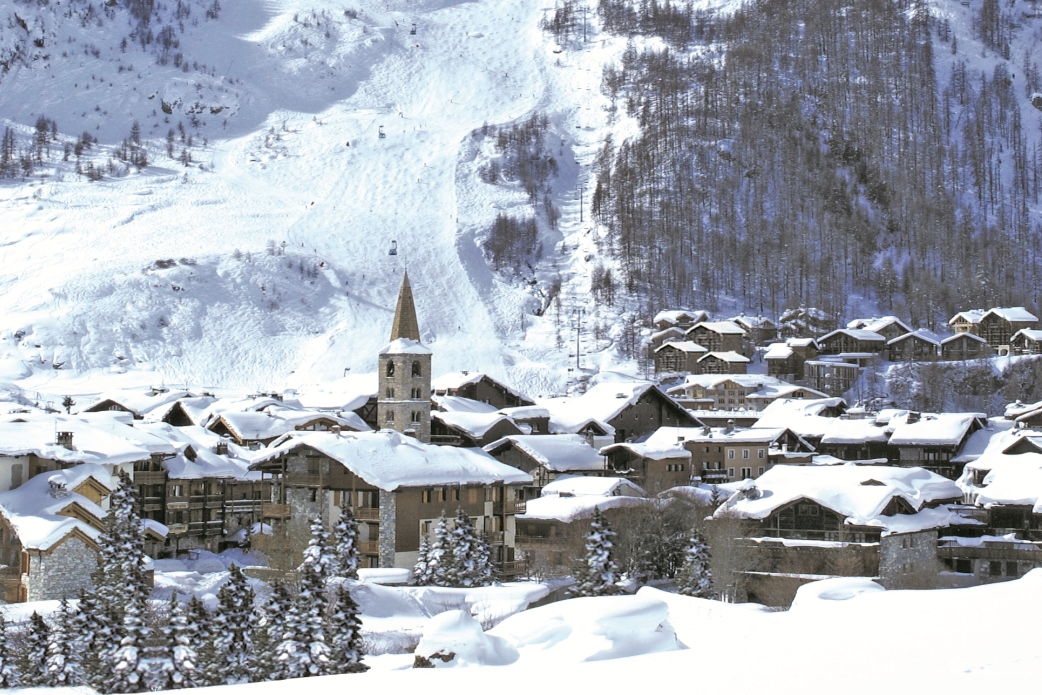 Ski Total | Val D'Isere church in the centre