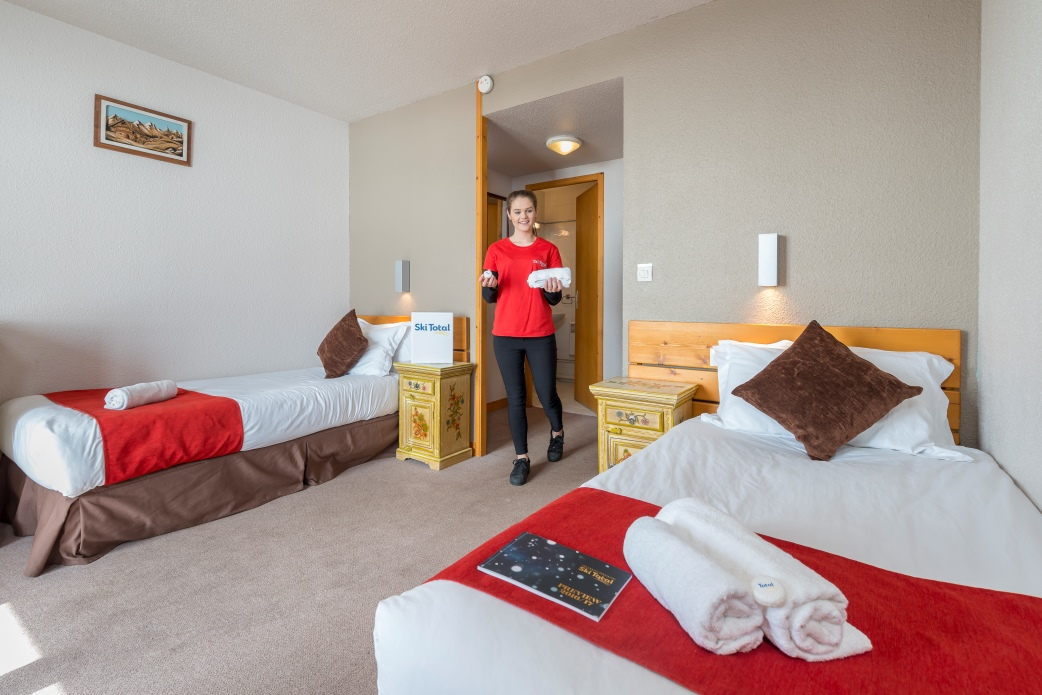 Ski Total | Room 16 in the Chalet Hotel Rosset