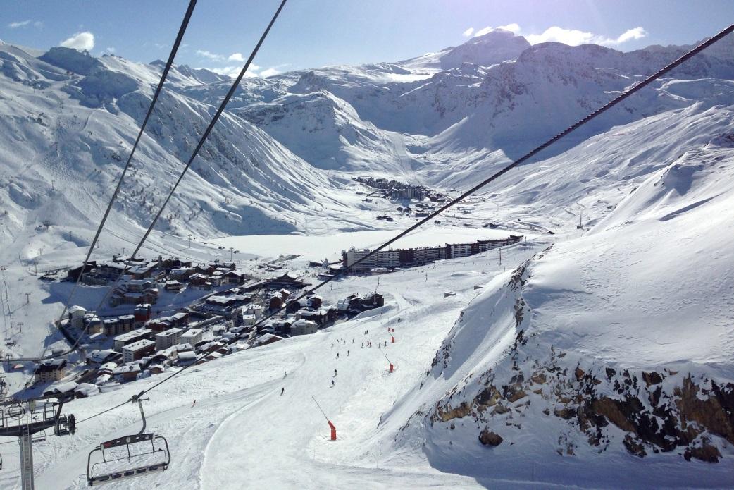Ski Total | Ski lift in Tignes