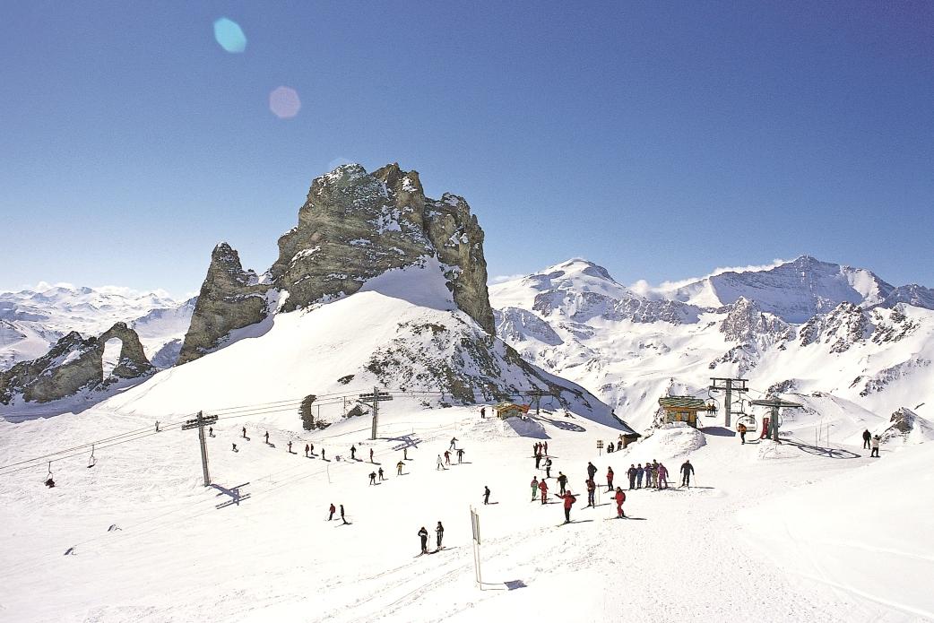 Ski Total | High altitude skiing in Tignes
