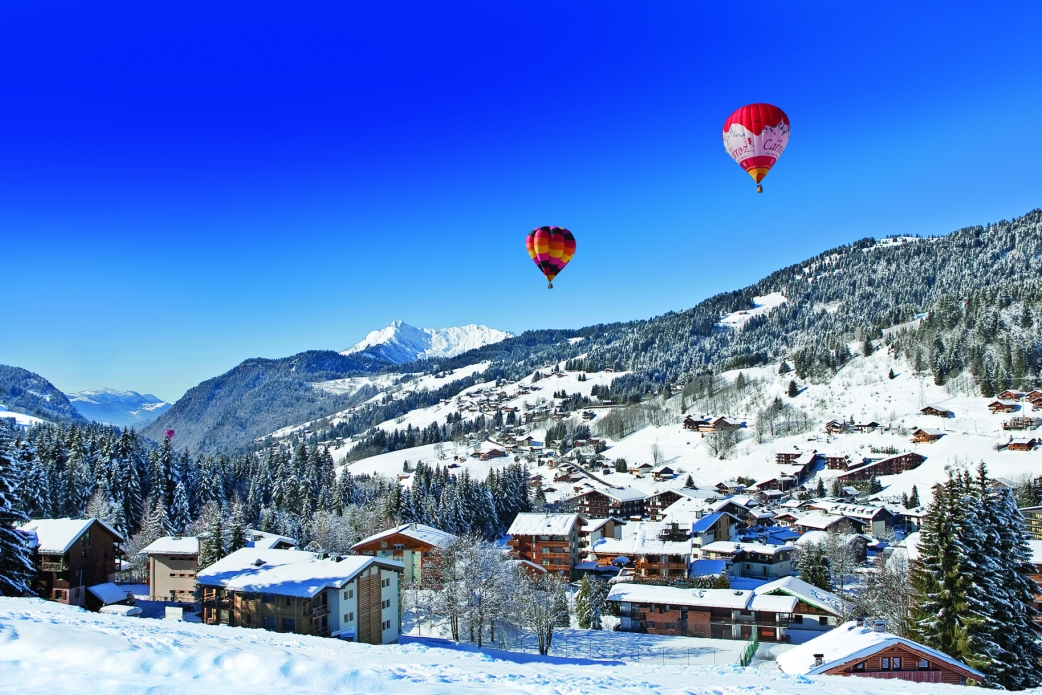 Ski Total | Hot air baloons in Les Gets