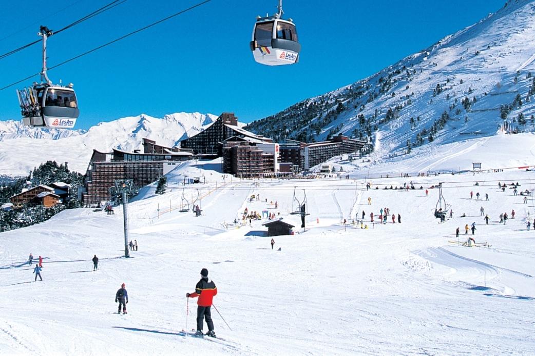 Ski Total   Les Arcs centre