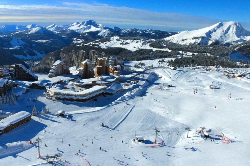 Ski Total | Birds eye view of Avoriaz