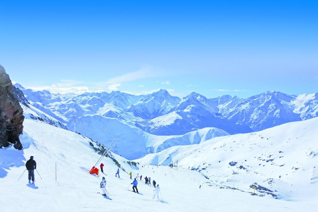 Ski Total | Alp d'Huez piste looking great
