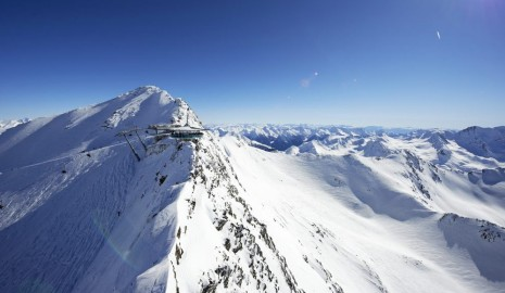 Top of Mountain Star Obergurgl