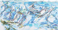 Ski Total | Espace Killy piste map