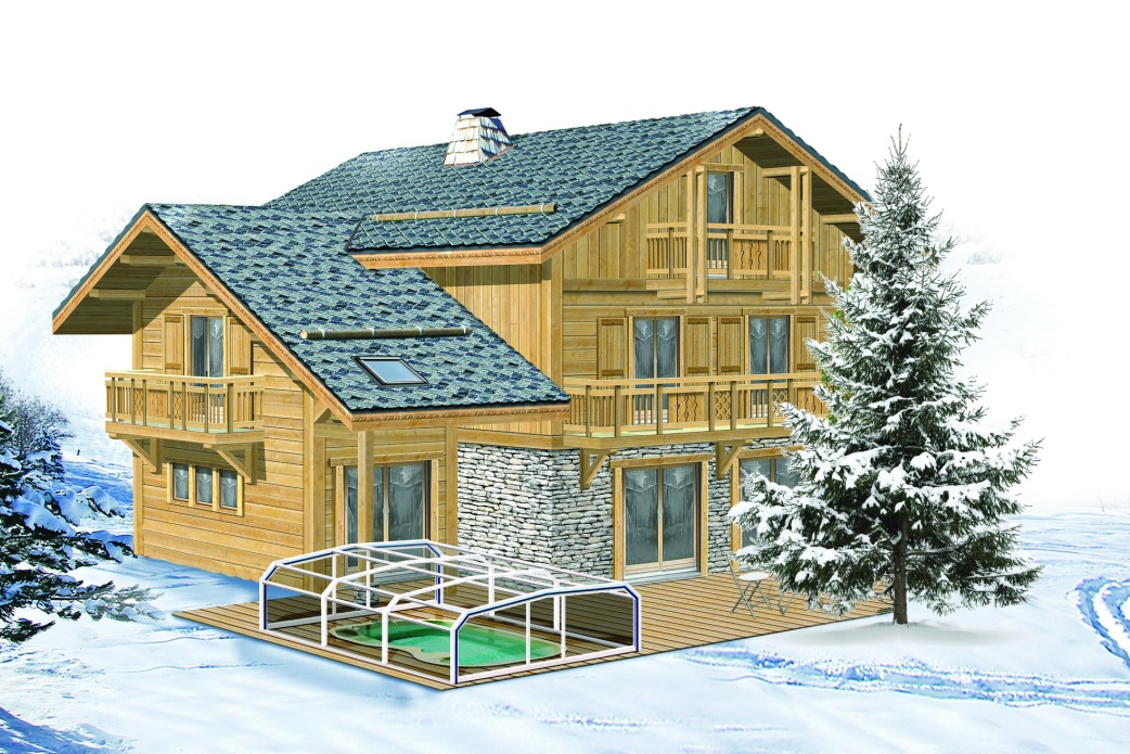Ski Total | An artist's impression of the chalet
