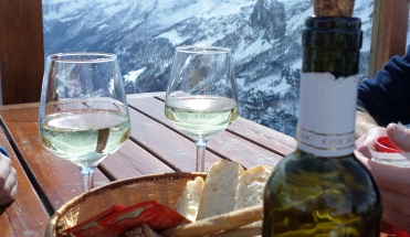 Ski Total | Wine with a view in the Italian Mountains