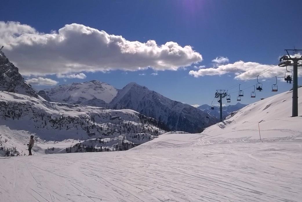 Ski Total   Empty slopes in Champoluc