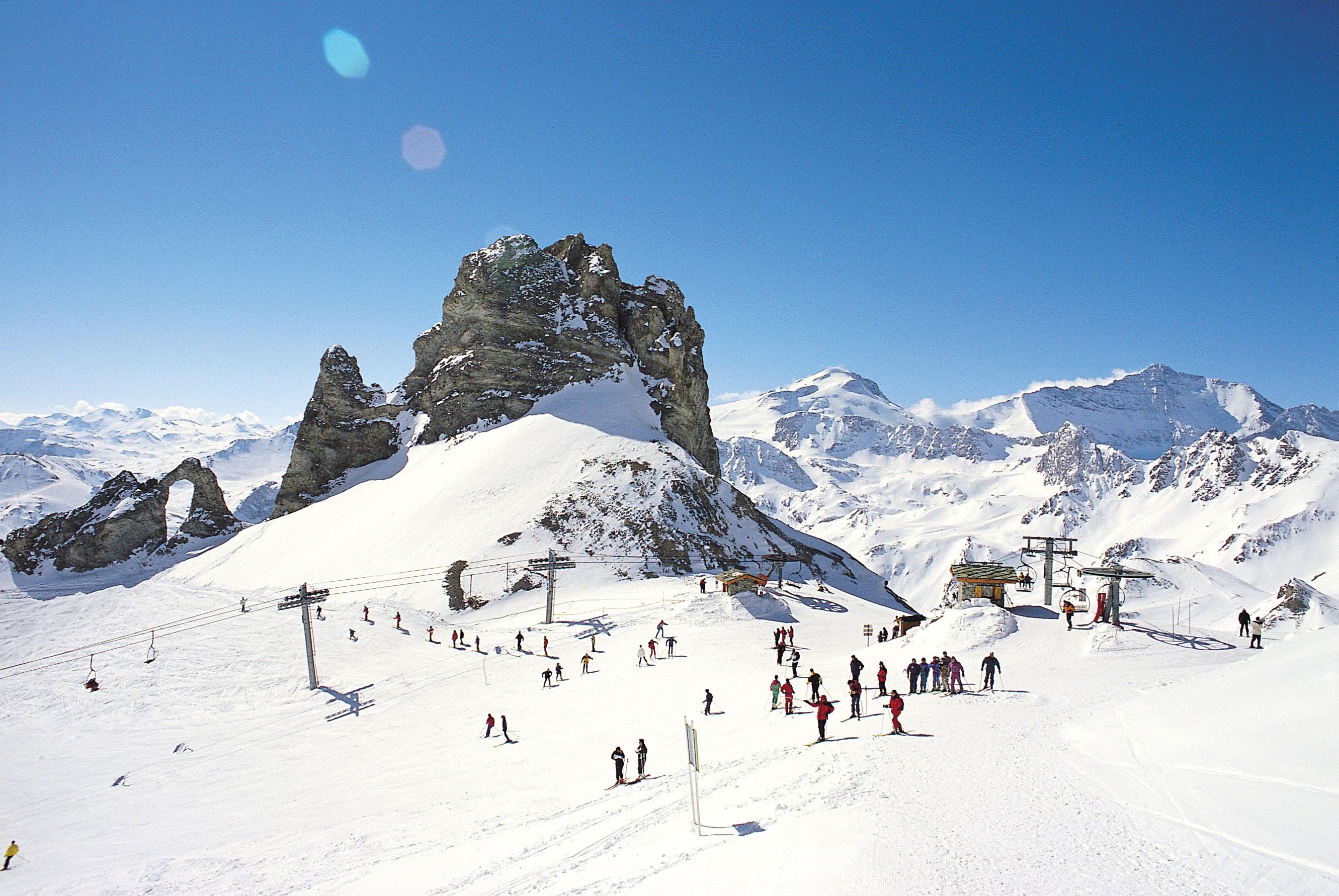 tignes snow report 14.01.2014 - ski total