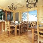 Chalet-LesArolles-Dining