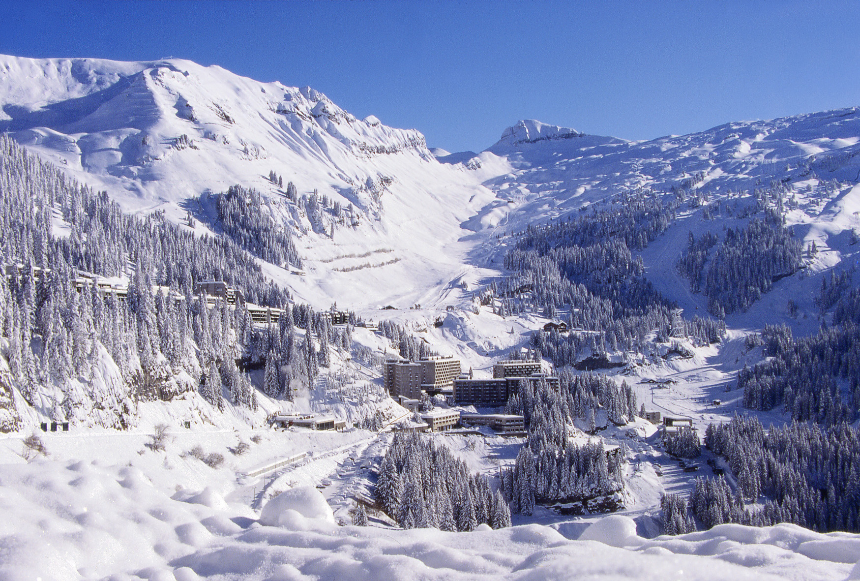 Flaine a hidden secret in the French Alps Ski Total