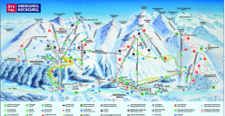 Obergurgl Ski map