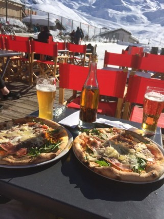 Courchevel lunch