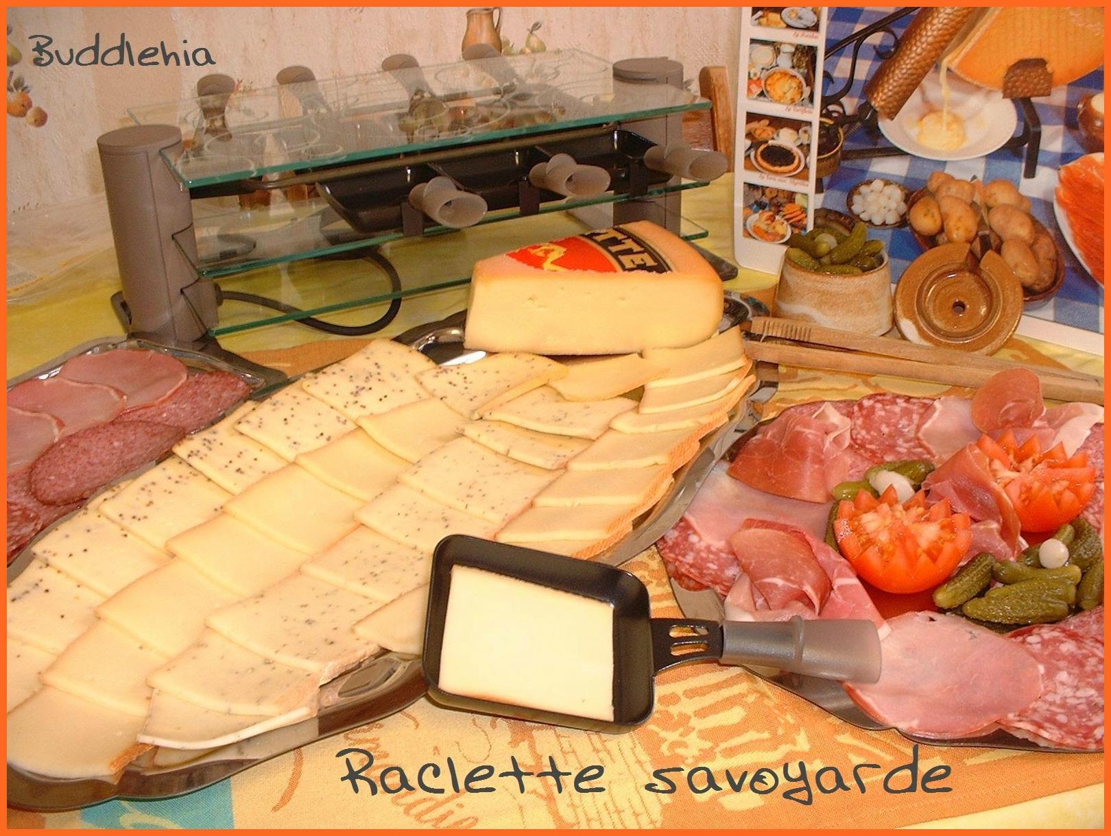 Savoyarde raclette