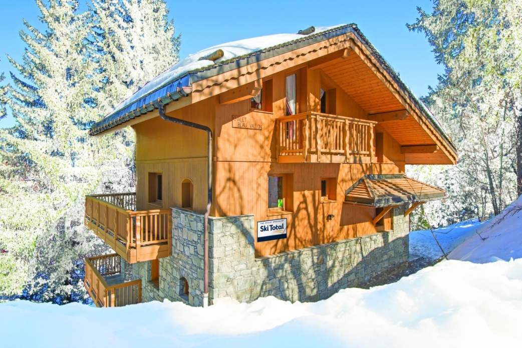 Ski Total | Exterior of the Chalet Beau Vallon