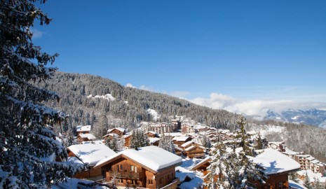 La Tania chalets