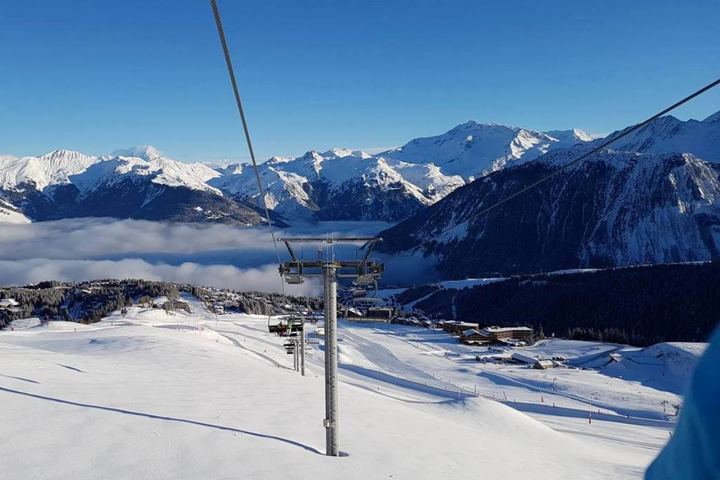 Ski Total | View from the ski lifts in Courchevel