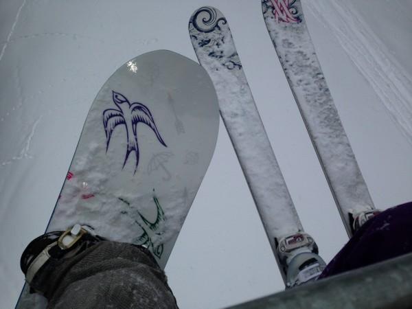 Skis Vs Snowboard?