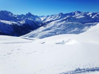 Fresh snow in Anton!
