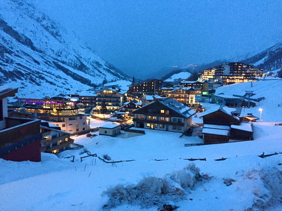 Obergurgl at twilight