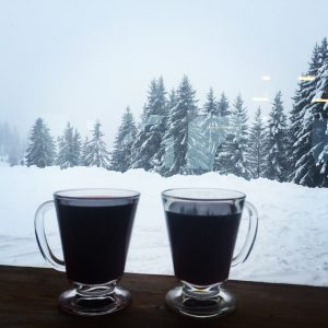 Vin chaud with a view