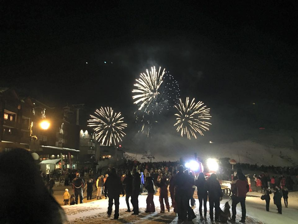 Christmas Eve Fireworks