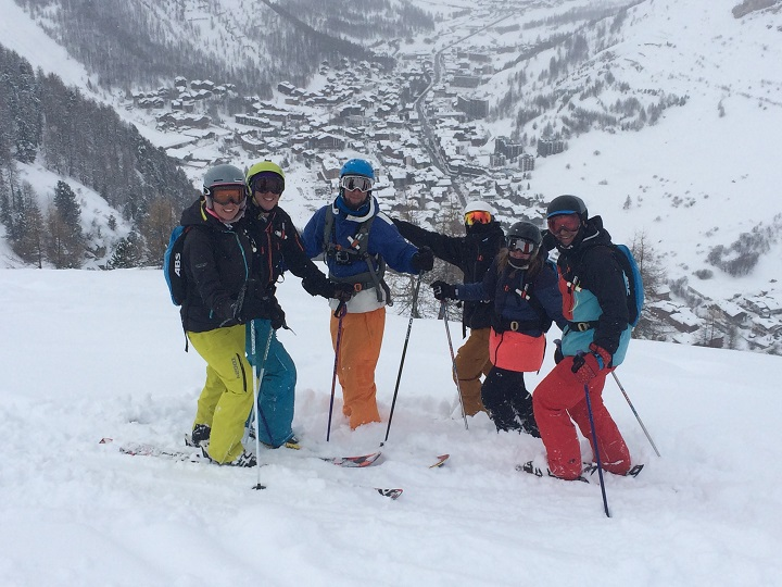 Off piste day with Evo2 in Val disere