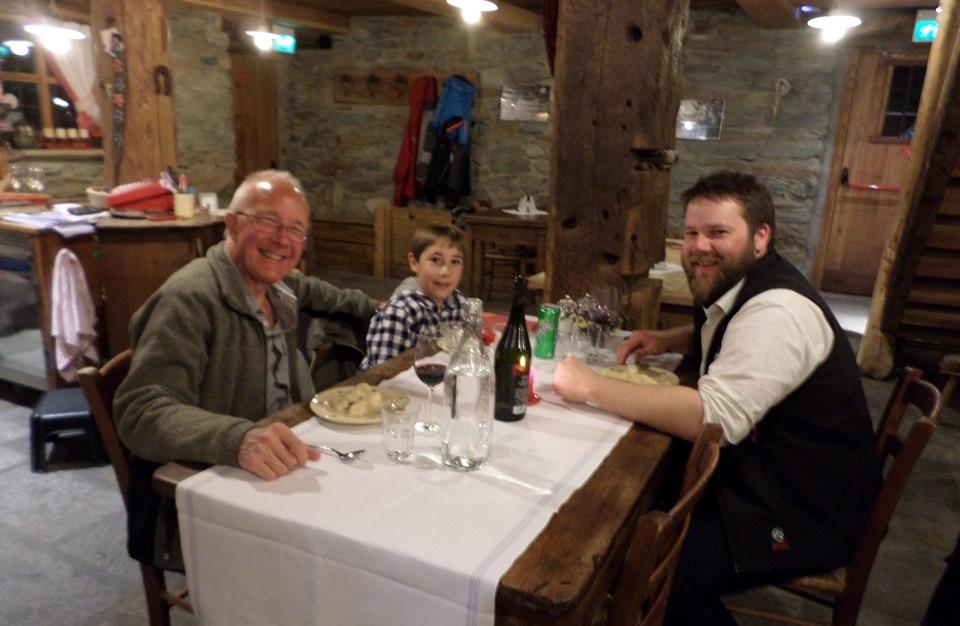 Frantze Champoluc Dinner