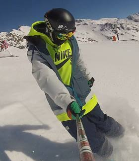 Ski Total | Sam aka 'Mr Steez' from the Reservation Team in Alpe d'Huez