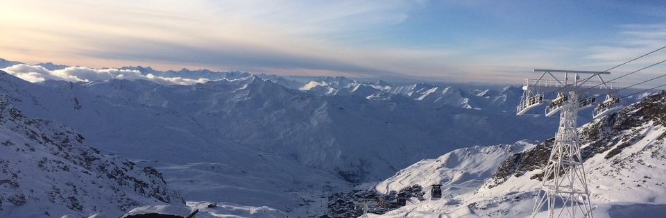 Val Thorens by day