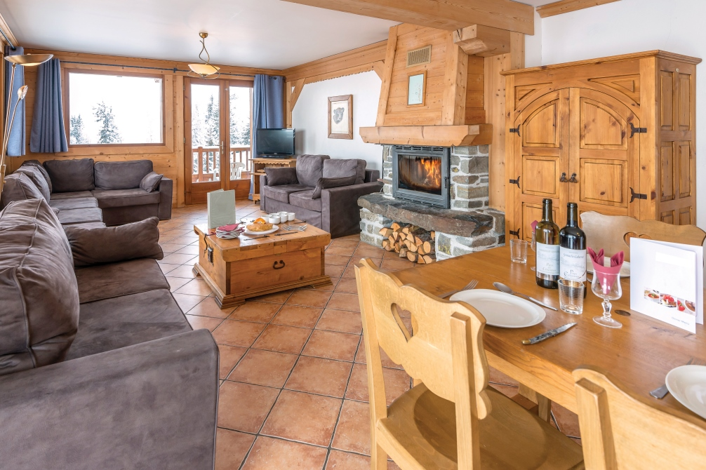 Ski Total | Interior design of the Our chalets