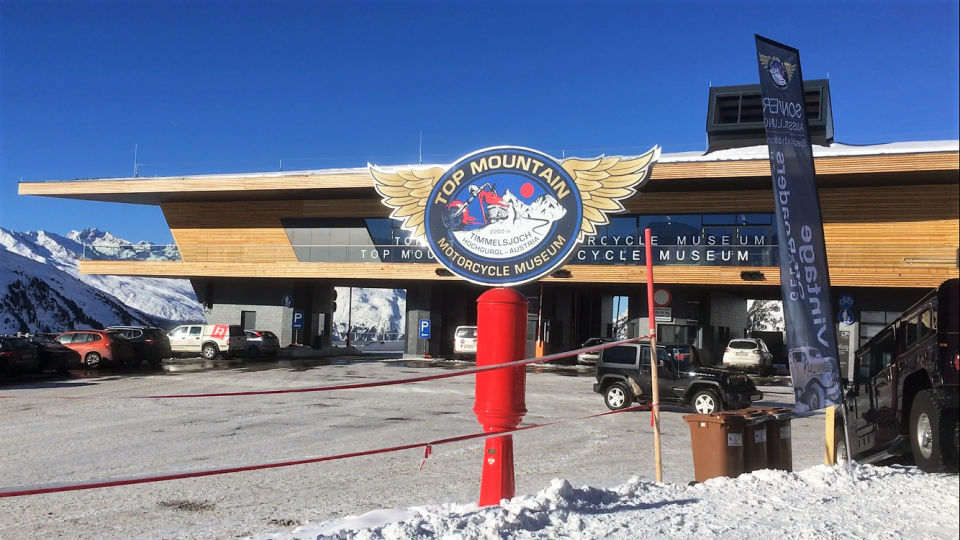 Ski Total   Motorcycle Museum in Hochgurgl