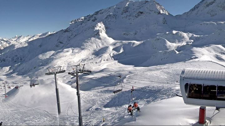 Ski Total | Les Arc Webcam conditions looking great