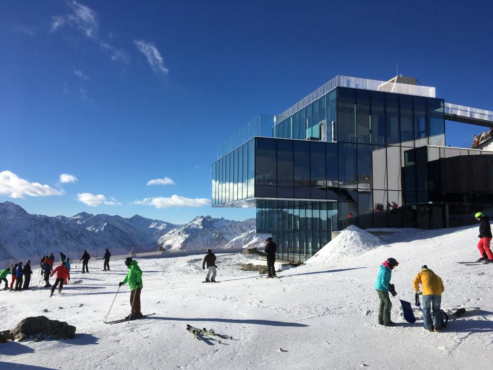 Ski Total | views from IceQ restaurant in Solden