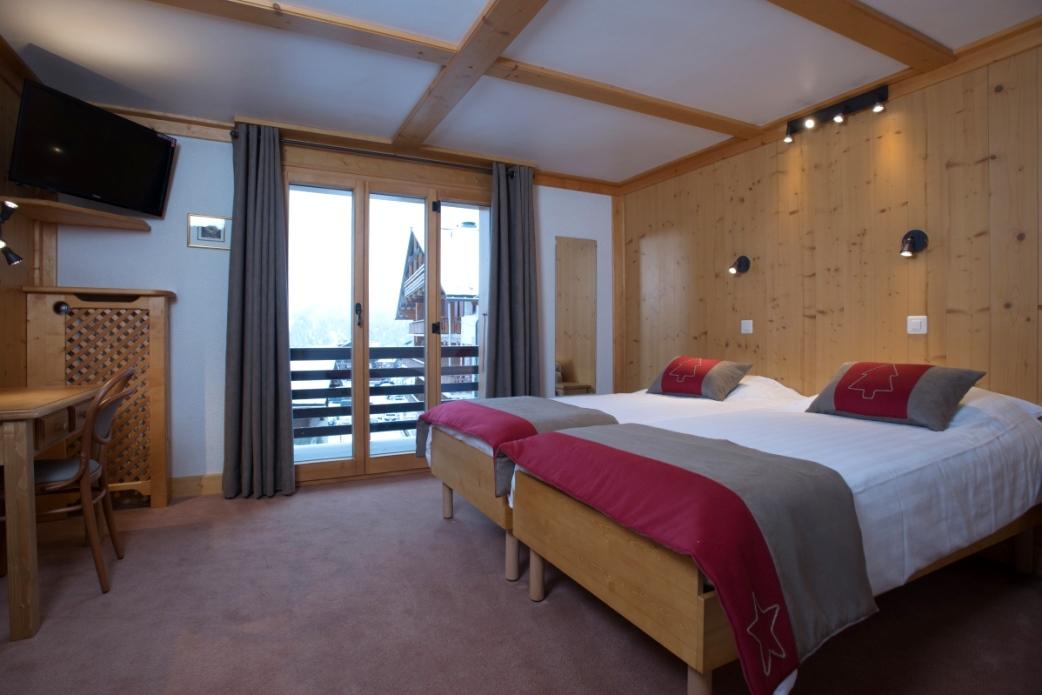 Ski Total   Room 52 in the Chalet De Verbier