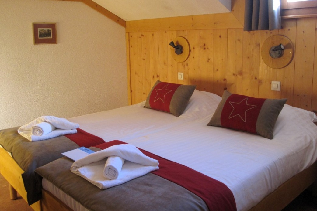 Ski Total   Room 34 in the Chalet De Verbier