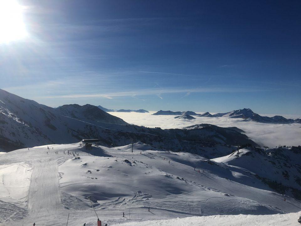 Ski Total   Snowy pistes in Avoriaz