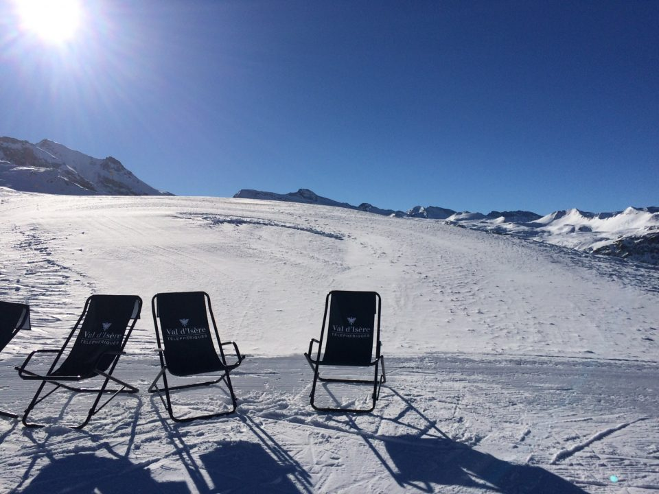 Ski Total | deck chairs Top of the solaise val d'Isère