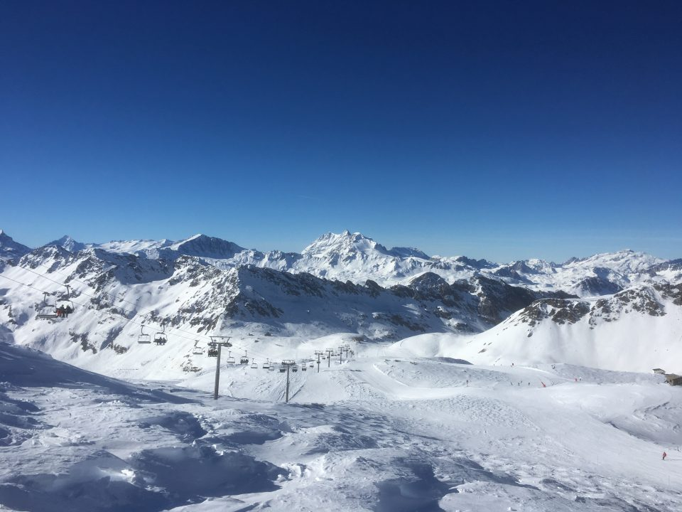 Ski Total | bluebird sky in Val d'Isere