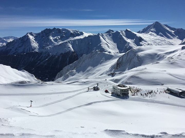 Ski Total | snowy mountains in Ischgl