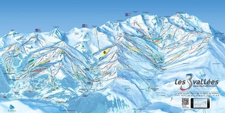Ski Total | 3 valleys piste map