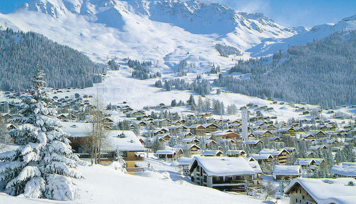 Ski Total | view of the ski resort of Verbier