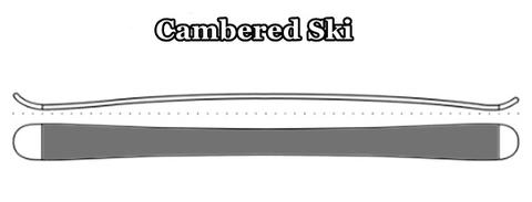 Ski Total | Cambered ski